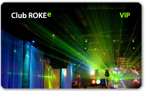 Club Roke Plastic Card