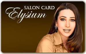 Elysium Salon Plastic Card