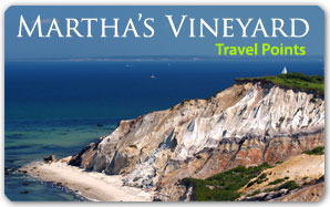 Martha's Vineyard Travel Points Plastic Card