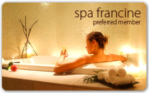 Spa Francine Plastic Card